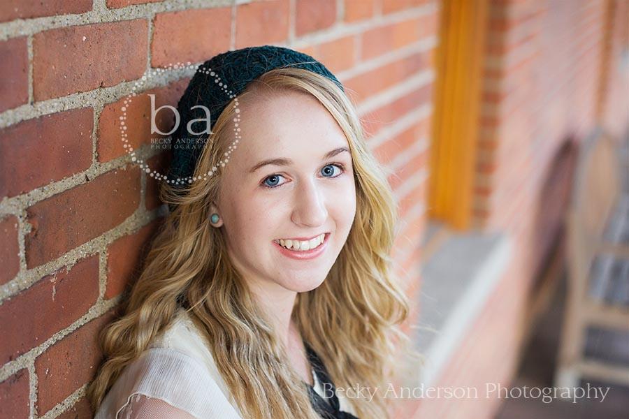 Portage Central senior girl