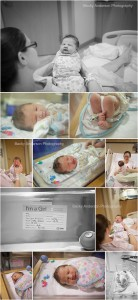 Kalamazoo hospital newborn photos