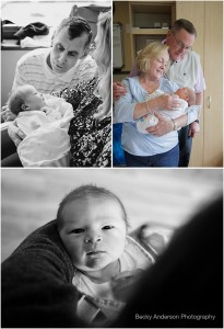 Fresh 48 newborn session Bronson Hospital