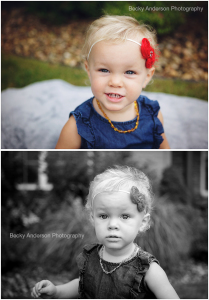 beautiful curly haired toddler girl with flower headband