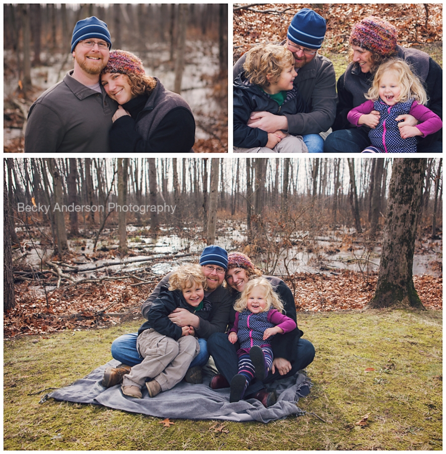 winter family what to wear