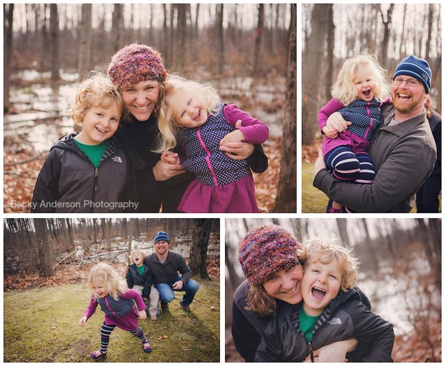 family interactions in kalamazoo photography