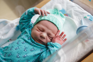 bronson hospital newborn photos