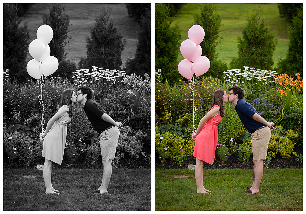 Kalamazoo gender reveal photographer